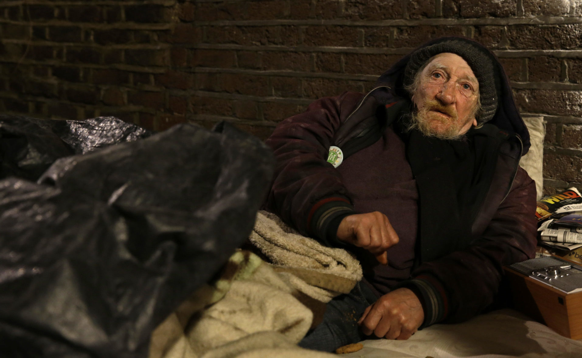 Annual rough sleeping figures for London announced
