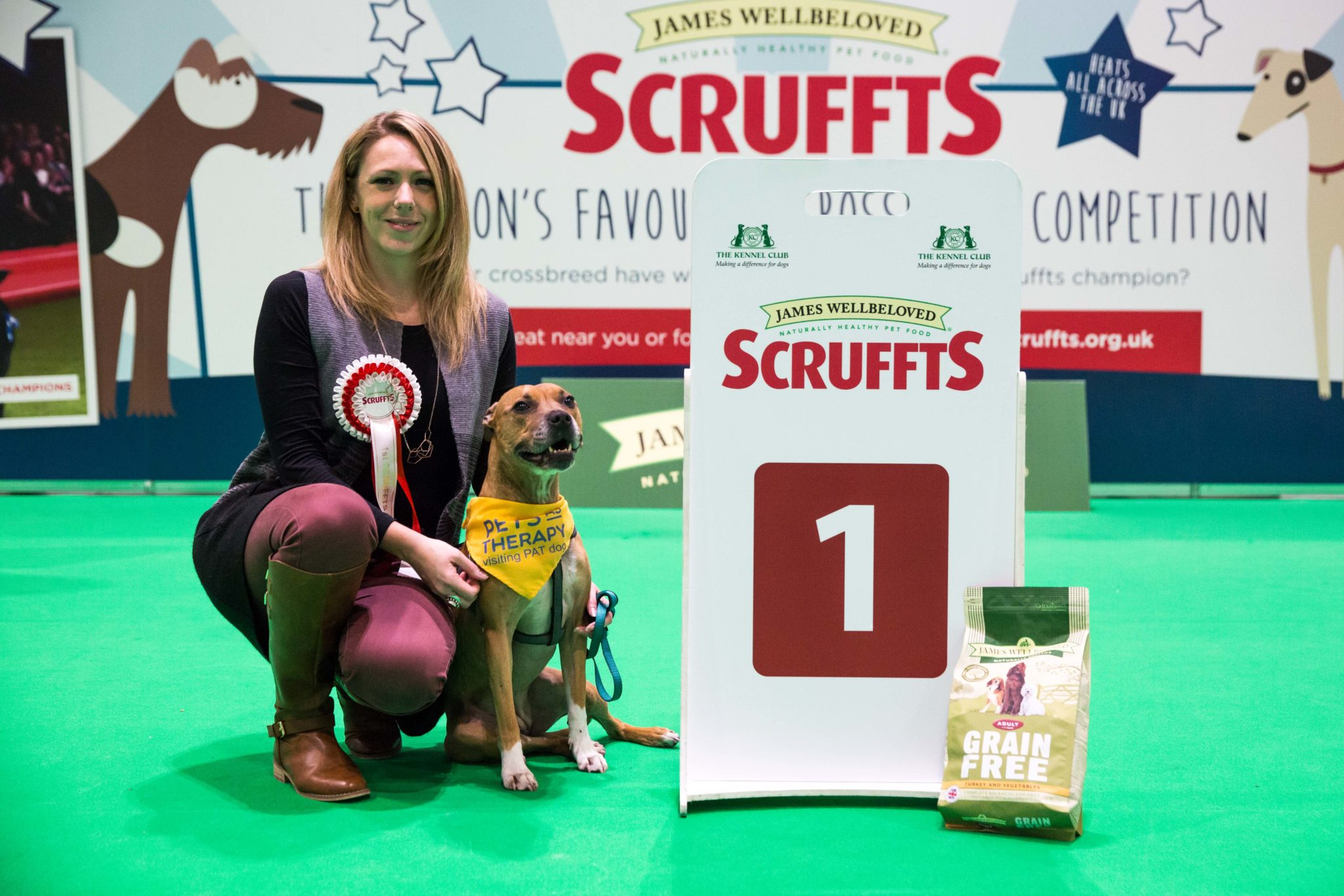 Therapy dog helping homeless people set to appear at Crufts grand final