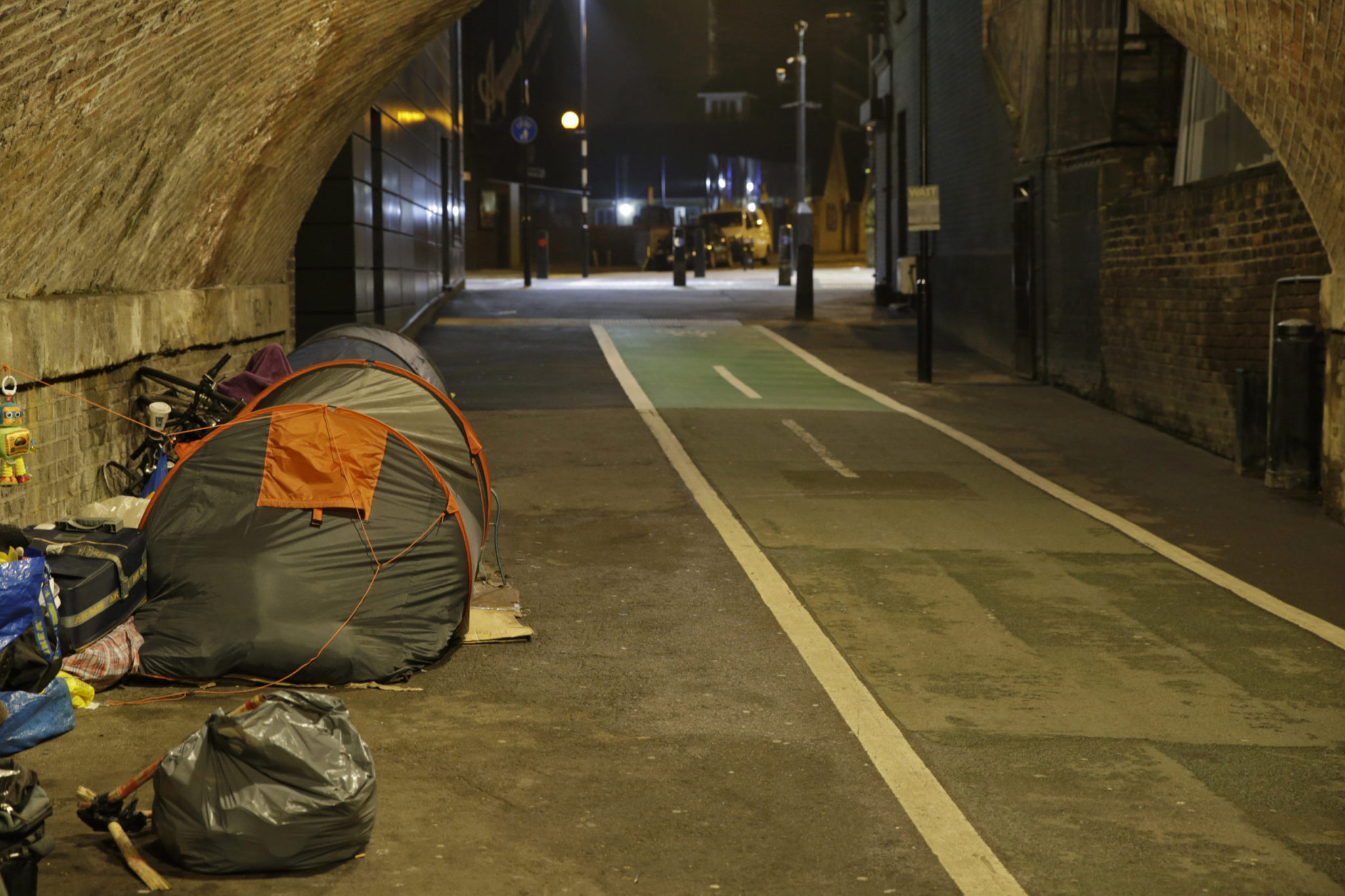 Supporting people rough sleeping during extreme cold weather