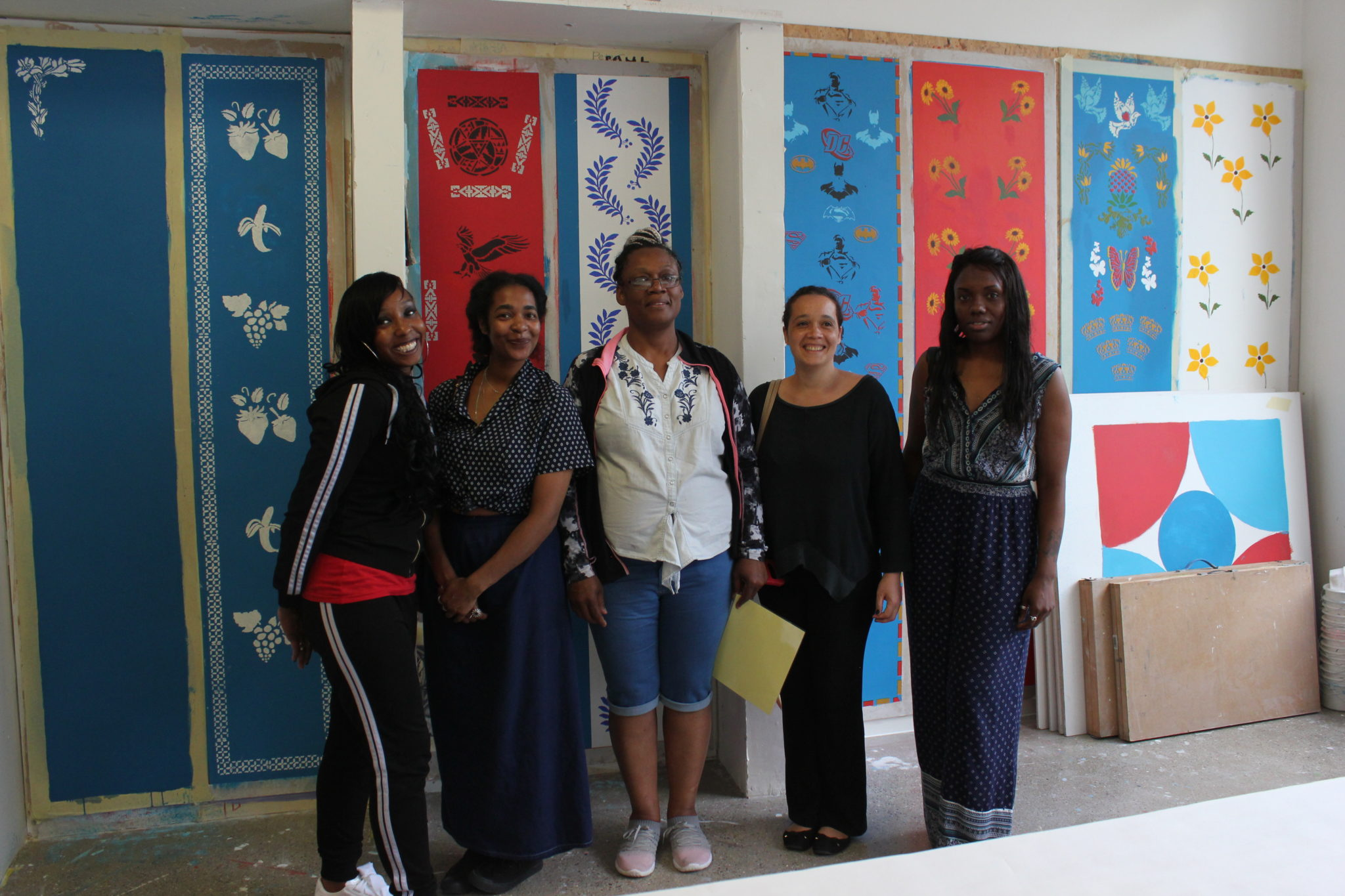 Thames Reach women use new painting skills to makeover community centre in Peckham