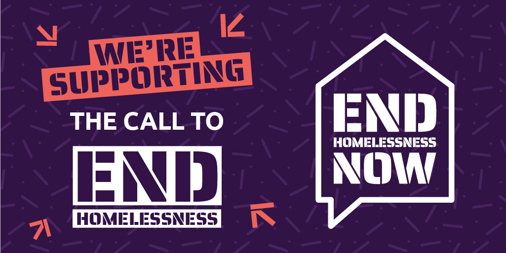 Thames Reach joins 'End Homelessness Now' campaign