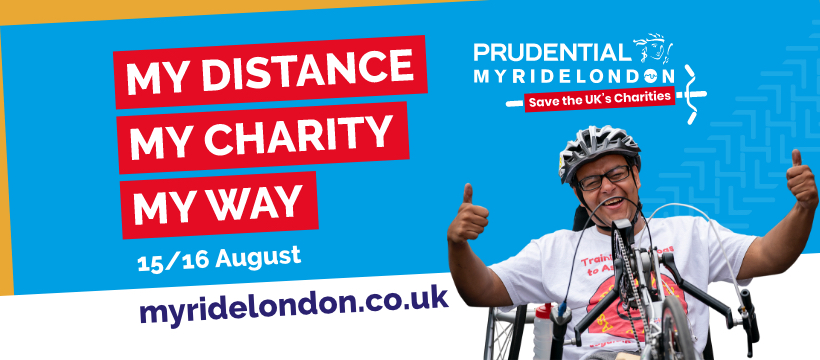 Fundraise for Thames Reach with the Prudential RideLondon!